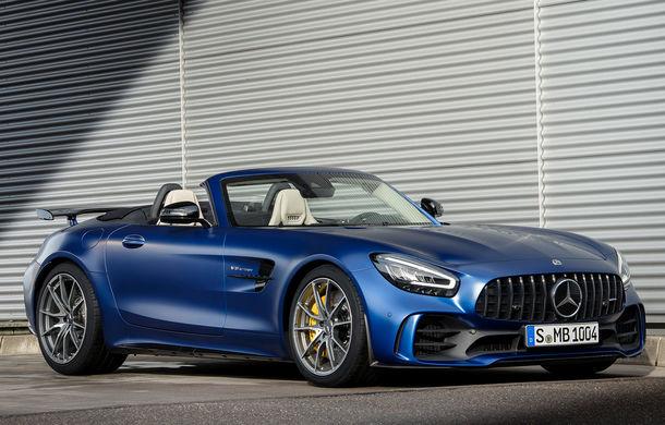 Mercedes-AMG a prezentat noul AMG GT R Roadster: 585 de cai putere și 3.6 secunde pentru sprintul de la 0 la 100 km/h - Poza 1