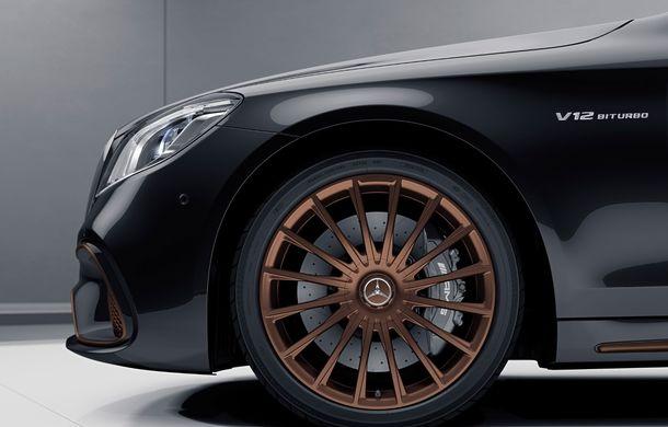 Cântec de lebădă: Mercedes-AMG aduce la Geneva versiunea S65 Final Edition echipată cu motorul V12 de 630 CP - Poza 6