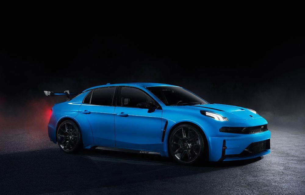 Lynk&Co prezintă Cyan 03 Concept: versiunea de stradă a sedanului cu care chinezii vor concura în Cupa Mondială de Turisme promite 528 CP - Poza 3