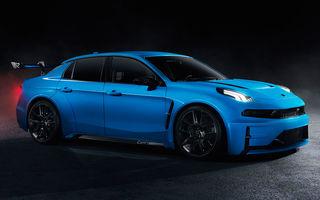 Lynk&Co prezintă Cyan 03 Concept: versiunea de stradă a sedanului cu care chinezii vor concura în Cupa Mondială de Turisme promite 528 CP