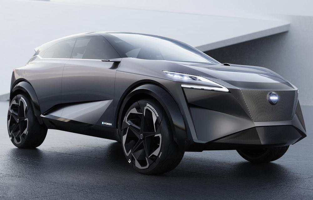 Nissan IMq Concept anticipează viitorul Qashqai: propulsie electrică cu 340 CP și motor-suport pe benzină de 1.5 litri - Poza 1