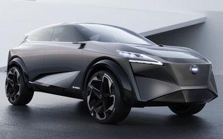 Nissan IMq Concept anticipează viitorul Qashqai: propulsie electrică cu 340 CP și motor-suport pe benzină de 1.5 litri