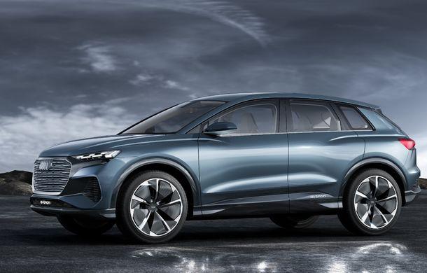 Audi prezintă conceptul Q4 e-tron: SUV-ul electric are tracțiune integrală, peste 300 CP și autonomie de 450 km: versiune de serie la sfârșit de 2020 - Poza 25