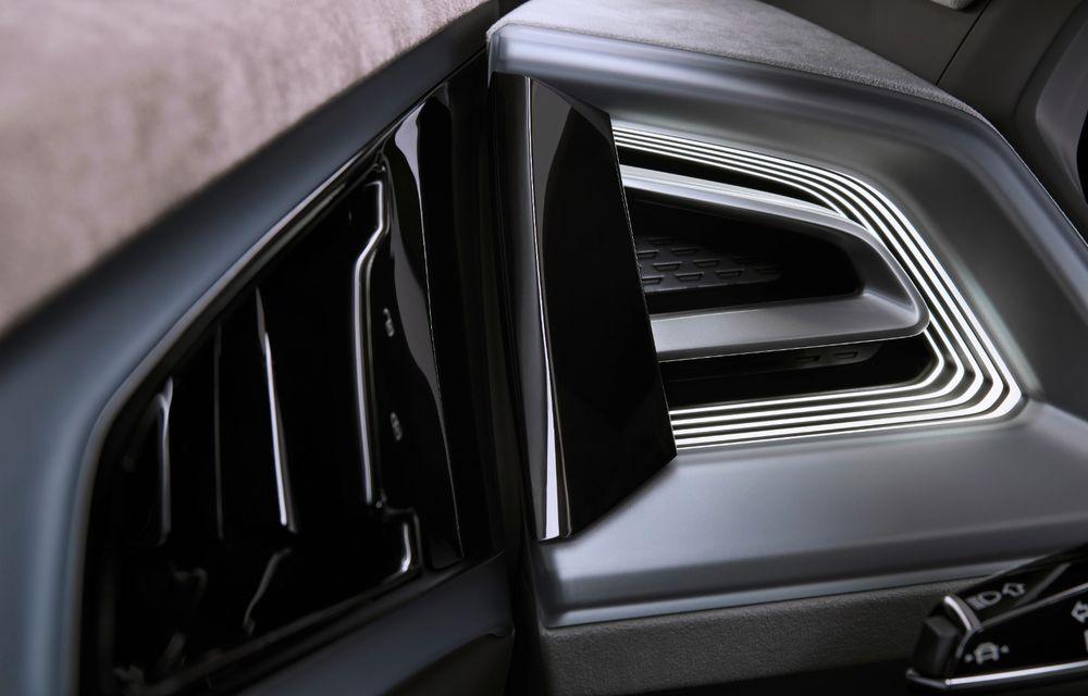 Audi prezintă conceptul Q4 e-tron: SUV-ul electric are tracțiune integrală, peste 300 CP și autonomie de 450 km: versiune de serie la sfârșit de 2020 - Poza 22
