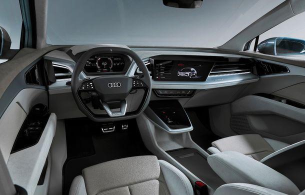 Audi prezintă conceptul Q4 e-tron: SUV-ul electric are tracțiune integrală, peste 300 CP și autonomie de 450 km: versiune de serie la sfârșit de 2020 - Poza 20