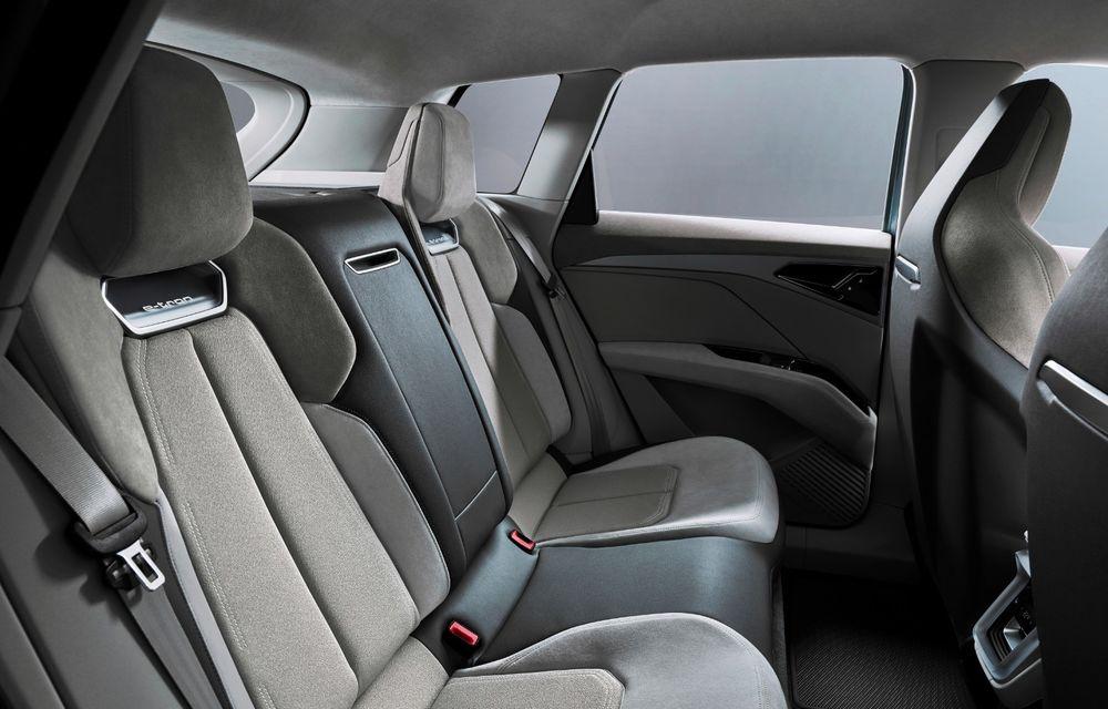 Audi prezintă conceptul Q4 e-tron: SUV-ul electric are tracțiune integrală, peste 300 CP și autonomie de 450 km: versiune de serie la sfârșit de 2020 - Poza 19