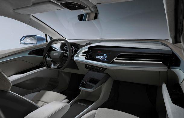 Audi prezintă conceptul Q4 e-tron: SUV-ul electric are tracțiune integrală, peste 300 CP și autonomie de 450 km: versiune de serie la sfârșit de 2020 - Poza 18