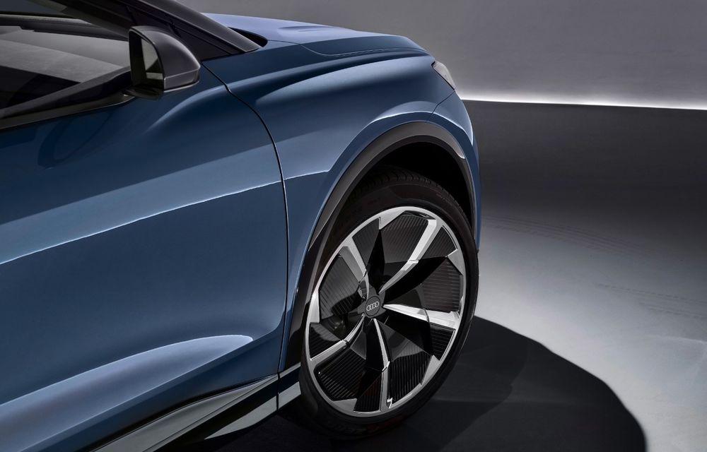 Audi prezintă conceptul Q4 e-tron: SUV-ul electric are tracțiune integrală, peste 300 CP și autonomie de 450 km: versiune de serie la sfârșit de 2020 - Poza 17