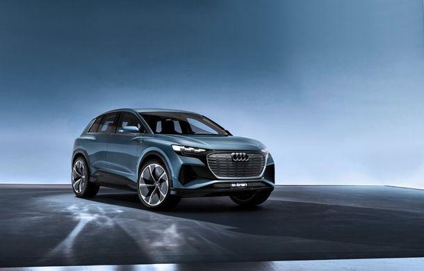 Audi prezintă conceptul Q4 e-tron: SUV-ul electric are tracțiune integrală, peste 300 CP și autonomie de 450 km: versiune de serie la sfârșit de 2020 - Poza 13