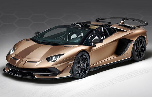 Lamborghini prezintă ediția specială SVJ Roadster: 800 de unități echipate cu motorul V12 de 770 CP - Poza 1