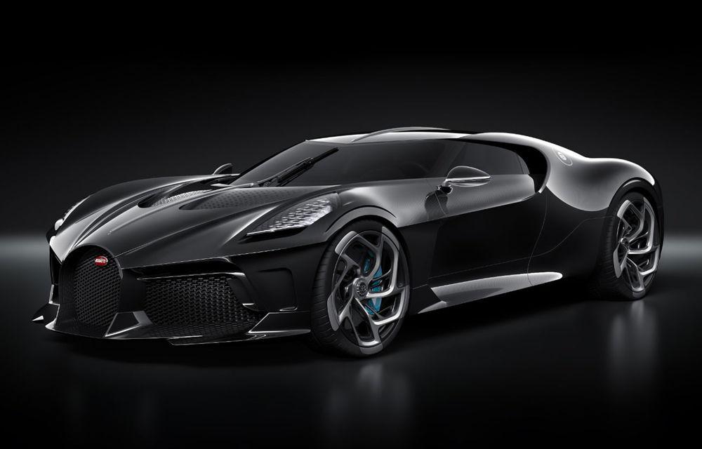 Bugatti prezintă unicatul La Voiture Noire: cea mai scumpă mașină nouă vândută în istorie - Poza 1