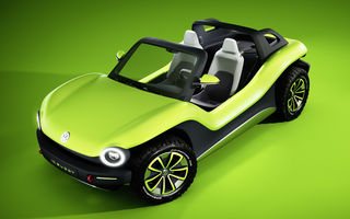 Volkswagen ID Buggy: conceptul fără plafon și portiere pentru amatorii de aventuri are 204 cai putere și ajunge la 100 km/h în 7.2 secunde