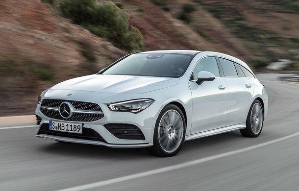 Noua generație Mercedes-Benz CLA Shooting Brake: design nou, dimensiuni mai generoase și tehnologii de siguranță preluate de pe Clasa S - Poza 1