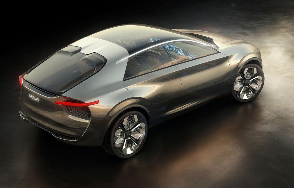 Imagine by Kia: conceptul electric cu 21 de ecrane Ultra HD indică direcția de design a viitoarelor modele Kia - Poza 3