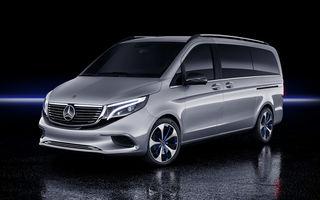 Mercedes-Benz EQV: versiunea electrică de pre-serie a Clasei V are autonomie de 400 de kilometri