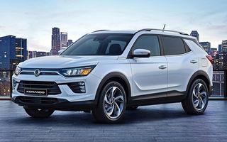 SsangYong a prezentat noua generație Korando: design nou, motor pe benzină de 163 CP și un pachet consistent de sisteme de siguranță