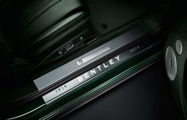 Bentley a prezentat ediția limitată Continental GT Number 9 by Mulliner: versiunea inspirată de legendarul Bentley Blower va fi produsă în doar 100 de unități - Poza 7