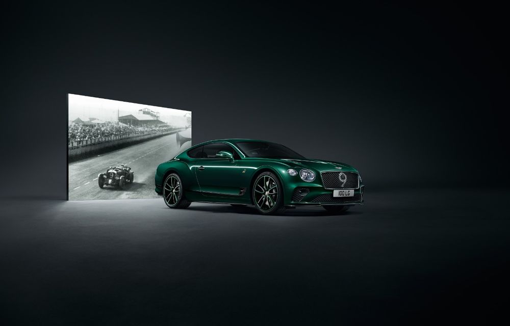 Bentley a prezentat ediția limitată Continental GT Number 9 by Mulliner: versiunea inspirată de legendarul Bentley Blower va fi produsă în doar 100 de unități - Poza 3