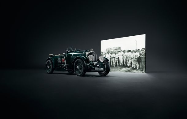 Bentley a prezentat ediția limitată Continental GT Number 9 by Mulliner: versiunea inspirată de legendarul Bentley Blower va fi produsă în doar 100 de unități - Poza 8