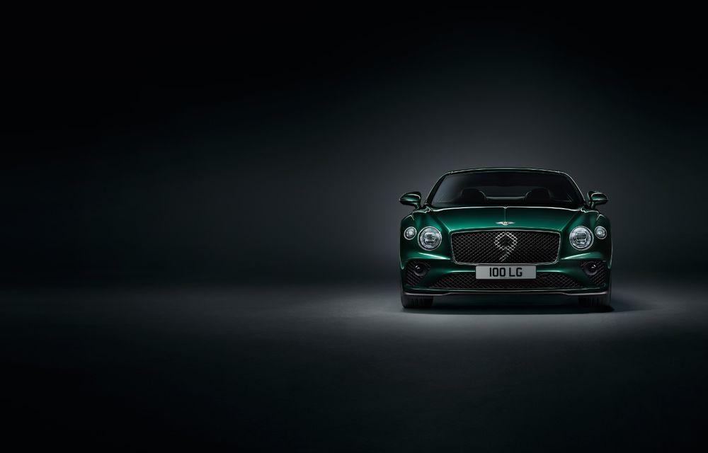 Bentley a prezentat ediția limitată Continental GT Number 9 by Mulliner: versiunea inspirată de legendarul Bentley Blower va fi produsă în doar 100 de unități - Poza 4