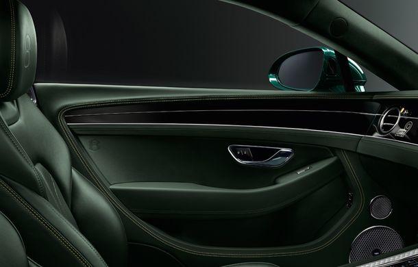 Bentley a prezentat ediția limitată Continental GT Number 9 by Mulliner: versiunea inspirată de legendarul Bentley Blower va fi produsă în doar 100 de unități - Poza 6