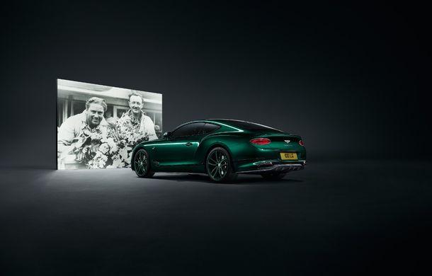 Bentley a prezentat ediția limitată Continental GT Number 9 by Mulliner: versiunea inspirată de legendarul Bentley Blower va fi produsă în doar 100 de unități - Poza 2