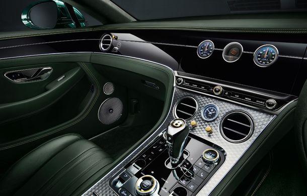 Bentley a prezentat ediția limitată Continental GT Number 9 by Mulliner: versiunea inspirată de legendarul Bentley Blower va fi produsă în doar 100 de unități - Poza 5