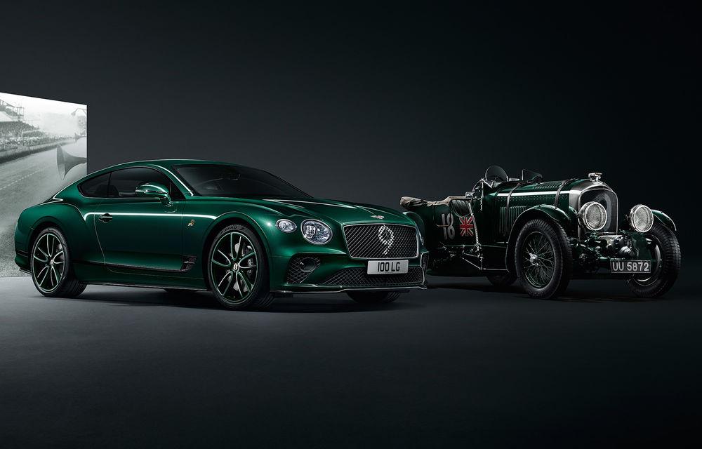 Bentley a prezentat ediția limitată Continental GT Number 9 by Mulliner: versiunea inspirată de legendarul Bentley Blower va fi produsă în doar 100 de unități - Poza 1