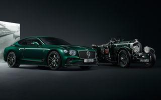 Bentley a prezentat ediția limitată Continental GT Number 9 by Mulliner: versiunea inspirată de legendarul Bentley Blower va fi produsă în doar 100 de unități