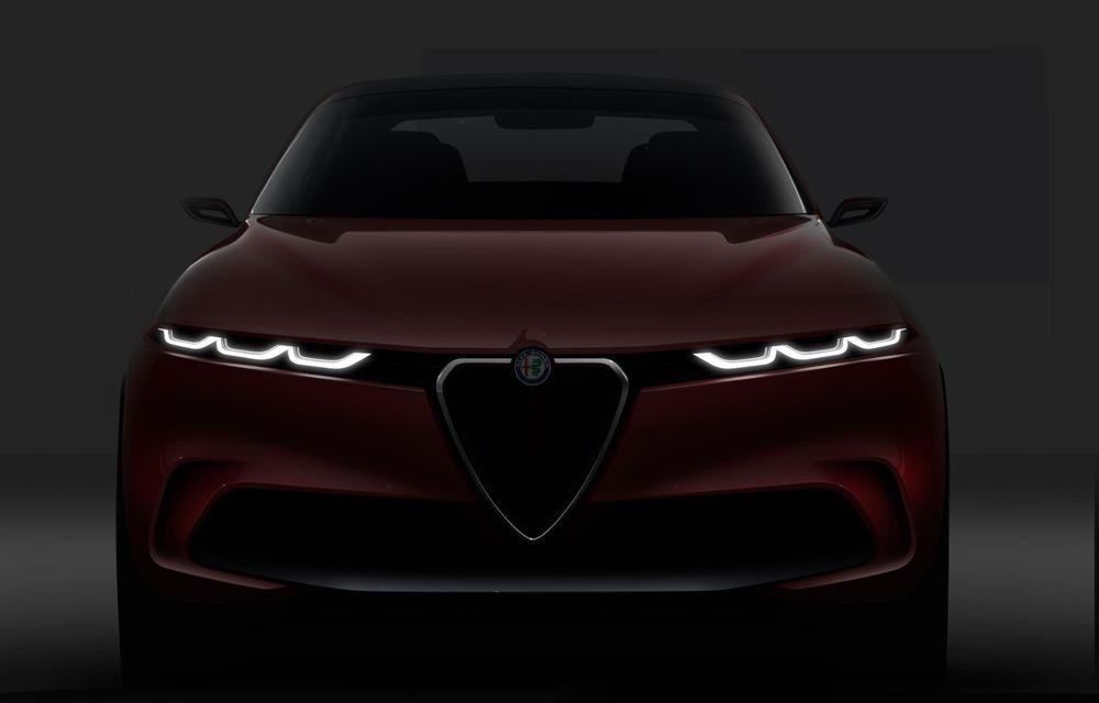 Alfa Romeo Stelvio va avea un frate mai mic: conceptul Tonale anunță un SUV compact plug-in hybrid - Poza 2