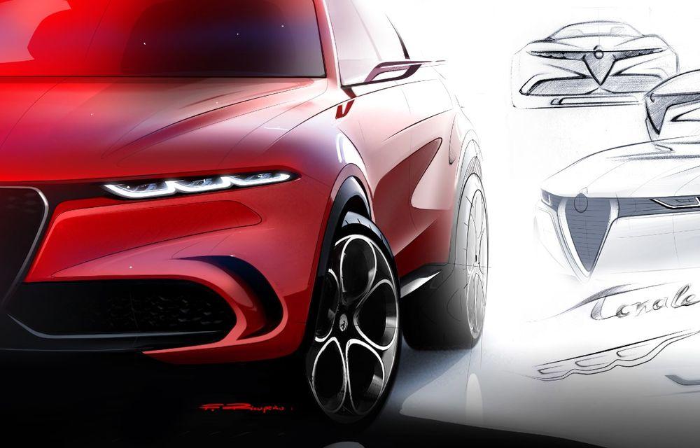 Alfa Romeo Stelvio va avea un frate mai mic: conceptul Tonale anunță un SUV compact plug-in hybrid - Poza 8