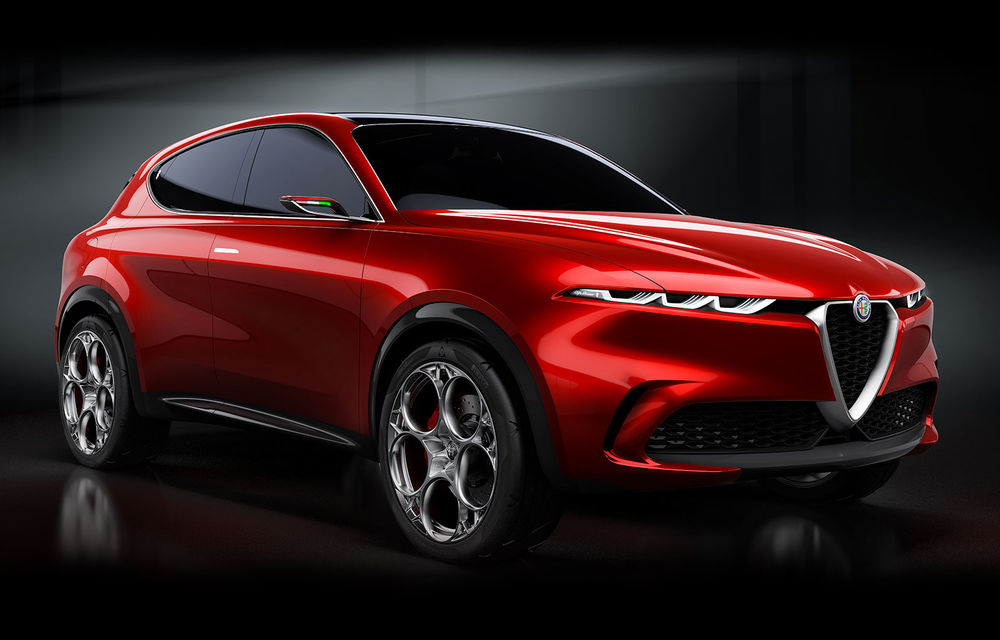 Alfa Romeo Stelvio va avea un frate mai mic: conceptul Tonale anunță un SUV compact plug-in hybrid - Poza 1