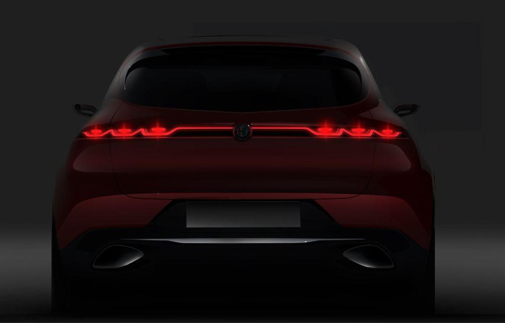 Alfa Romeo Stelvio va avea un frate mai mic: conceptul Tonale anunță un SUV compact plug-in hybrid - Poza 3