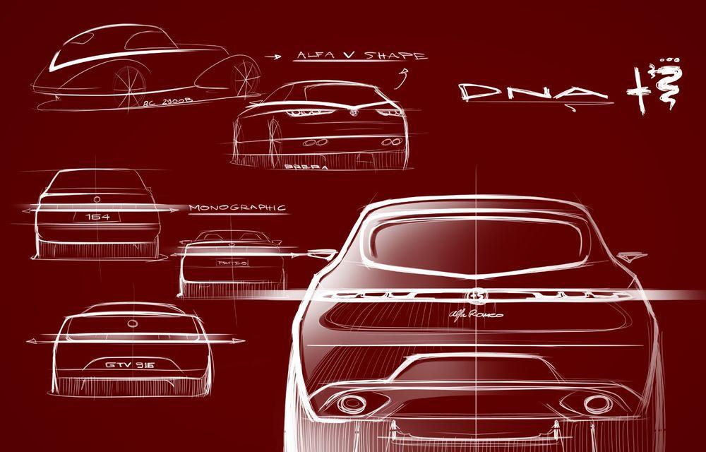Alfa Romeo Stelvio va avea un frate mai mic: conceptul Tonale anunță un SUV compact plug-in hybrid - Poza 13