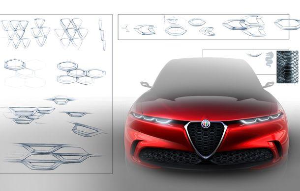 Alfa Romeo Stelvio va avea un frate mai mic: conceptul Tonale anunță un SUV compact plug-in hybrid - Poza 11
