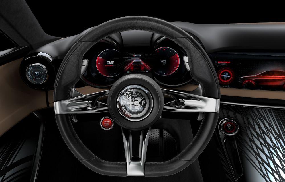 Alfa Romeo Stelvio va avea un frate mai mic: conceptul Tonale anunță un SUV compact plug-in hybrid - Poza 15