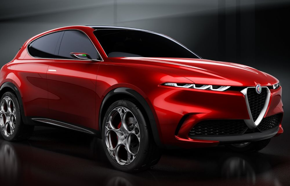 Alfa Romeo Stelvio va avea un frate mai mic: conceptul Tonale anunță un SUV compact plug-in hybrid - Poza 20