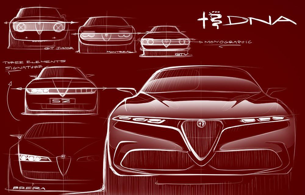Alfa Romeo Stelvio va avea un frate mai mic: conceptul Tonale anunță un SUV compact plug-in hybrid - Poza 12