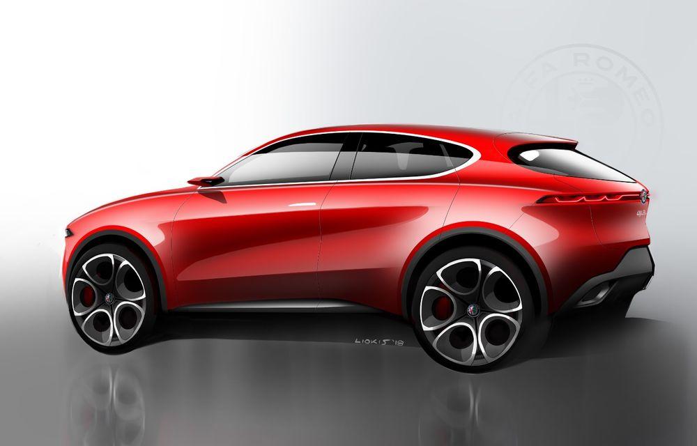 Alfa Romeo Stelvio va avea un frate mai mic: conceptul Tonale anunță un SUV compact plug-in hybrid - Poza 6