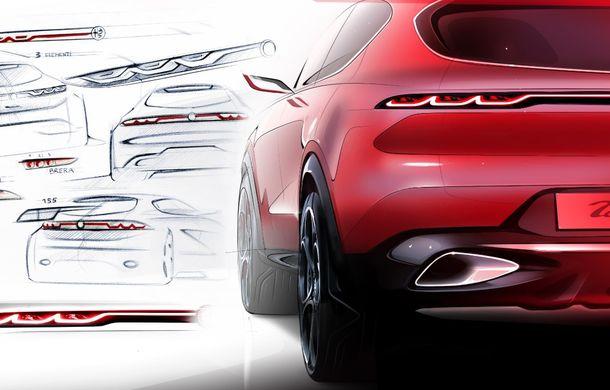 Alfa Romeo Stelvio va avea un frate mai mic: conceptul Tonale anunță un SUV compact plug-in hybrid - Poza 9
