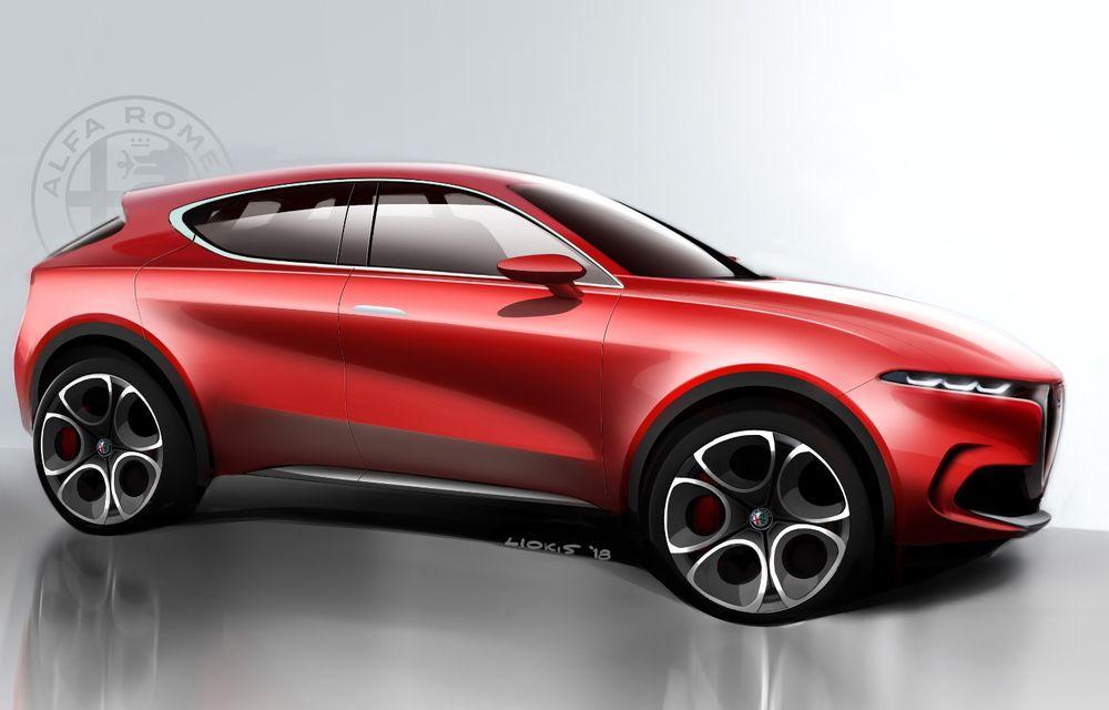 Alfa Romeo Stelvio va avea un frate mai mic: conceptul Tonale anunță un SUV compact plug-in hybrid - Poza 5