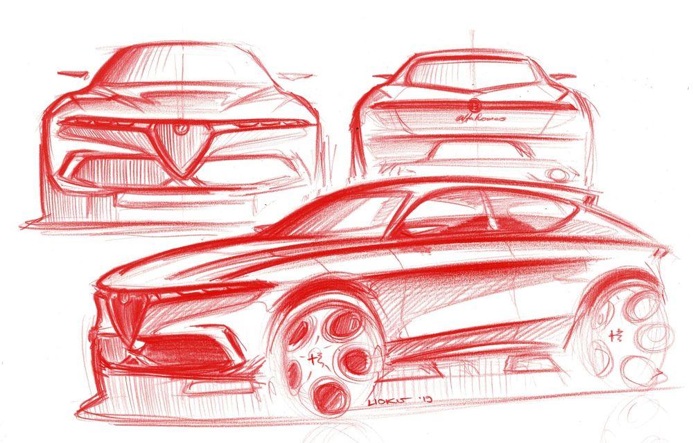 Alfa Romeo Stelvio va avea un frate mai mic: conceptul Tonale anunță un SUV compact plug-in hybrid - Poza 4