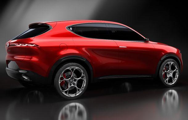 Alfa Romeo Stelvio va avea un frate mai mic: conceptul Tonale anunță un SUV compact plug-in hybrid - Poza 21
