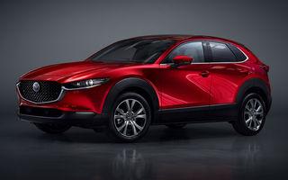 Mazda CX-30 este cel mai nou SUV al mărcii japoneze: design modern, pachet generos de tehnologii de siguranță și motorizări preluate de pe noul Mazda 3