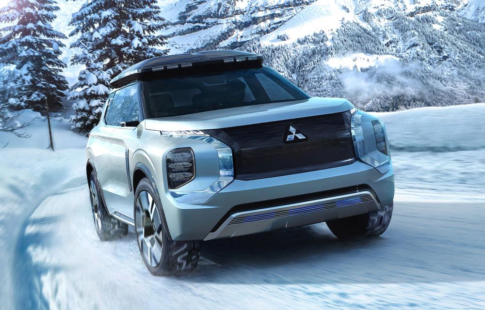 Mitsubishi Engelberg Tourer: conceptul anticipează viitoarele SUV-uri și sisteme plug-in hybrid ale japonezilor - Poza 1