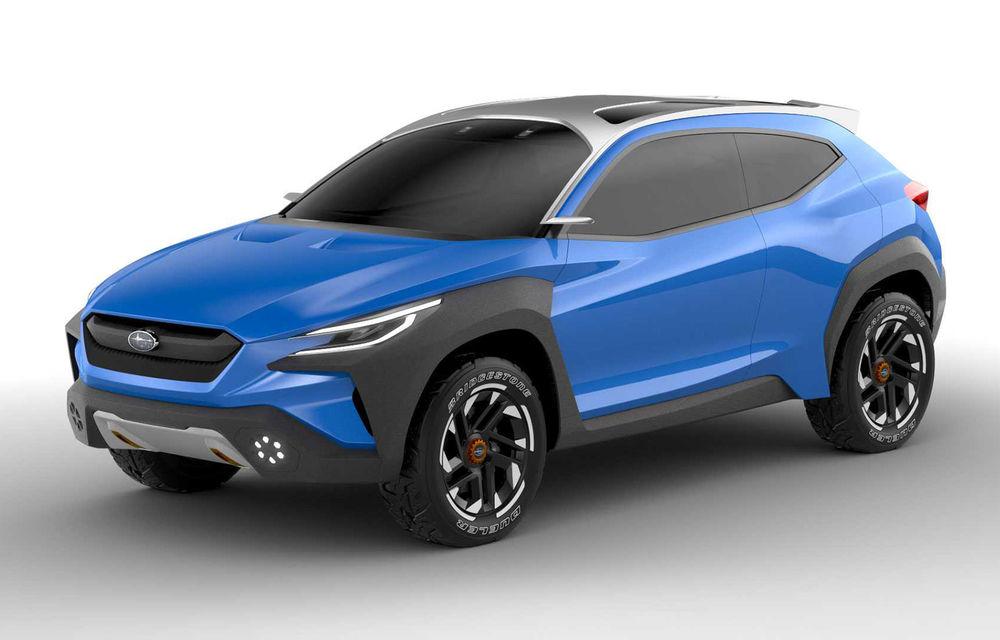 Subaru Viziv Adrenaline Concept, poze și detalii oficiale: prototipul niponilor anunță o evoluție a designului pentru viitoarele modele - Poza 1