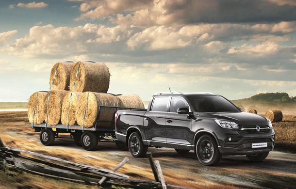 SsangYong Musso Grand: pick-up cu motor diesel de 181 cai putere și capacitate de încărcare de până la 1062 de kilograme - Poza 1