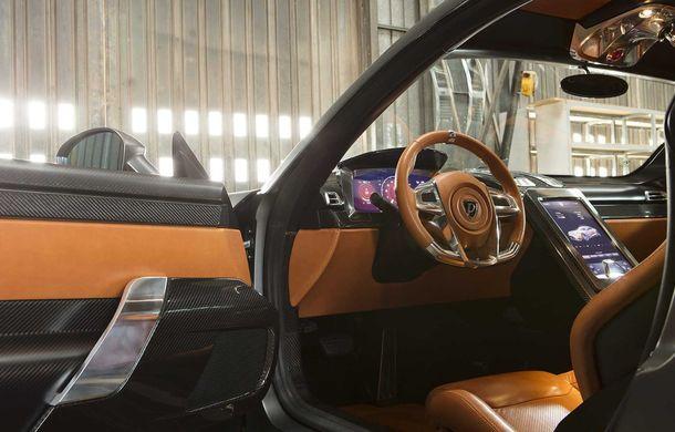 Puritalia Berlinetta, expus la Geneva: un GT echipat cu sistem de propulsie plug-in hybrid cu peste 970 CP - Poza 16