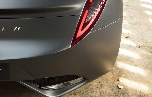Puritalia Berlinetta, expus la Geneva: un GT echipat cu sistem de propulsie plug-in hybrid cu peste 970 CP - Poza 12