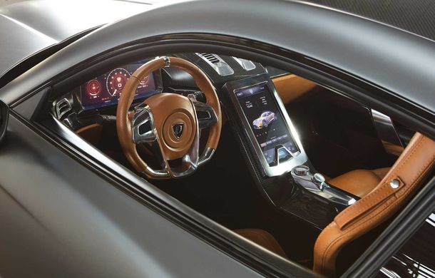 Puritalia Berlinetta, expus la Geneva: un GT echipat cu sistem de propulsie plug-in hybrid cu peste 970 CP - Poza 17